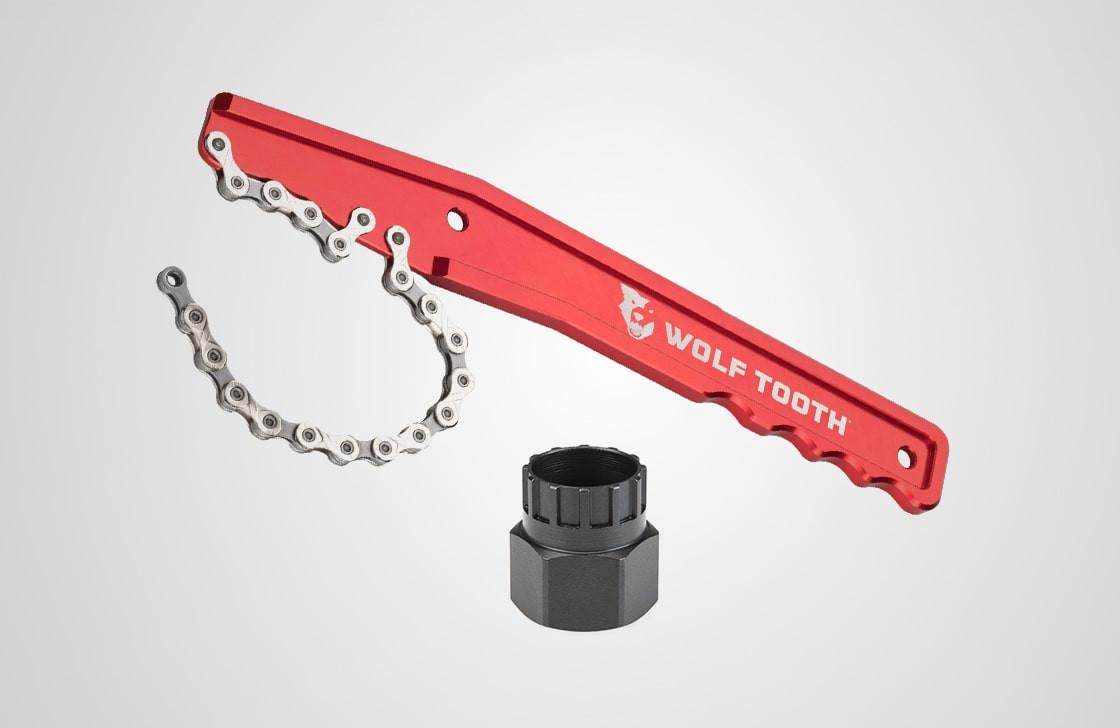 Cassette lockring tool + Chain whip